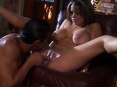 Sienna West gagging on rock solid love stick of hot fellow