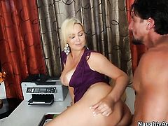 Tommy Gunn is ready to make amazingly hot Abbey Brookss every sex fantasy come true
