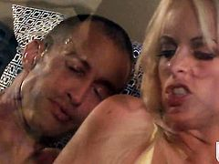 Angelic sex kitten Stormy Daniels enjoys another great cumshot session