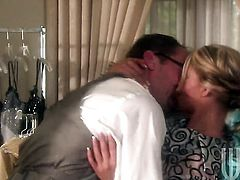 Charisma Cappelli feels the best feeling ever with dudes sticky love cream all over her face