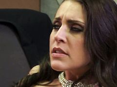 Gracie Glam sucks like a pro in oral action