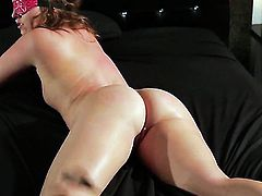 Maddy OReilly does lewd things and then gets drenched in cum