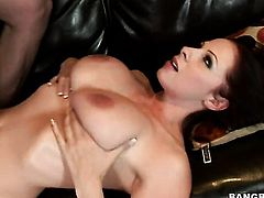 Brunette Gianna Michaels just loves to fuck and cant say No to hard dicked guy