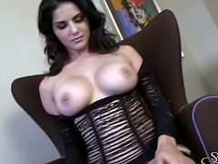 I am so much into breasts and Sunny Leone has a nice rack