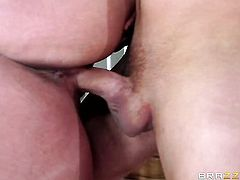 Van Wylde whips out his meat stick to fuck dangerously seductive Alura Jensons love tunnel
