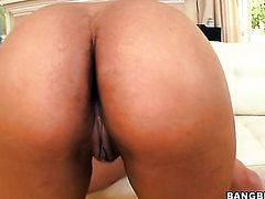 Brunette Imani Rose fucking like a first rate whore in steamy sex action with horny dude