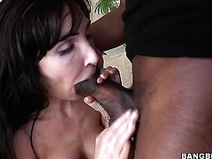 Brunette Diana Prince fucking interracially like a pro