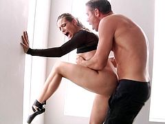 Visit official Hard X's HomepageNothing makes Cassidy Klein to scream louder, than having her fine butt hole pumped well and stretched in rough manners by her partner
