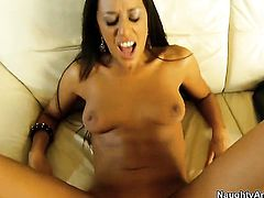 Passionate goddess Lyla Storm is out of control with Will Powers s pulsating rod in her vagina