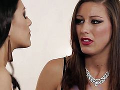 Lyla Storm loves the way Dani Daniels rubs her wet hole