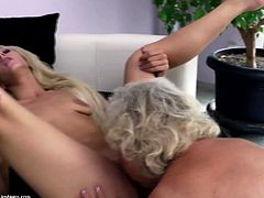 Crazy mature lesbians go wild with young lovers