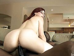 Penny Pax gulps Wesley Pipess rock hard dick