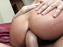 Manuel Ferrara gets his always hard fuck stick sucked by Brandy Aniston before ass fucking