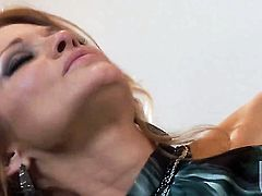 Sexy breathtaker shows her love for dick sucking