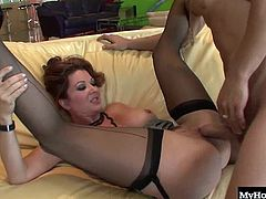 Raquel Devine is the MILF of everyones dreams, and this mature sexpot is going to be driving everyone wild. She likes to go after the college guys, since they have the stamina to keep up with her endless sexual demands and she just loves teaching them the proper way to please a mature woman in lingerie.