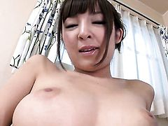 Milf is on the way to the height of pleasure with vibrator in her pussy hole