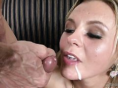 Julia Ann gets the hole between her legs ploughed by Tony De Sergios rock hard pole