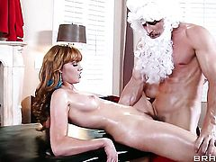Johnny Sins gets his always hard ram rod used by