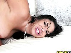 Missy Martinez opens up her legs