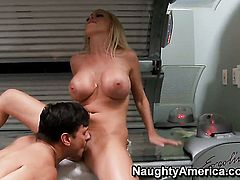 Nikki Benz is good at fucking and her hard dicked fuck buddy Anthony Rosano knows it