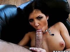 Sultry sexy Rebeca Linares fucking in high heels