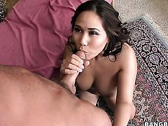 Brunette exotic Jessica Bangkok has interracial sex of her lifetime