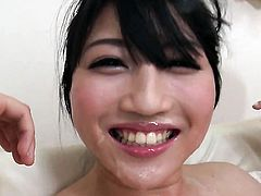 Milf Reo Saionji proves that her body is amazing after stripping naked