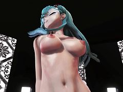 MMD 2 Babes Big Tits Sweet Asses Hairy & Bald Pussy GV00110