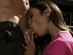 Amber Rayne satisfies her anus needs and desires