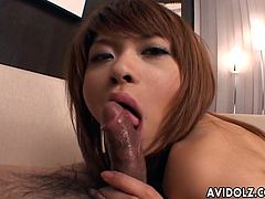 Red haired Japanese kawaii nympho would love to suck delicious dick