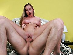 Danny Wylde cant wait any more to stuff his fuck stick in extremely horny Lizzy Londons pussy