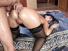Anastasia II had her booty fucked a thousand times but needs some more