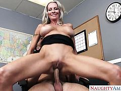 Seth Gamble loves naughty Emma StarrS dripping wet muff and bangs her as hard as possible