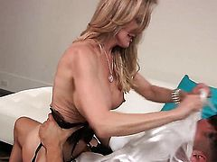 Brandi Love has oral fun with hard dicked bang buddy