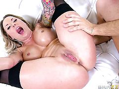 Keiran Lee has unthinkable sex with With big breasts