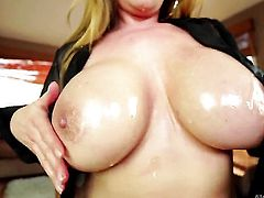 Oriental Kianna Dior with massive breasts needs nothing but Jonni Darkkos hard snake in her pussy to be satisfied