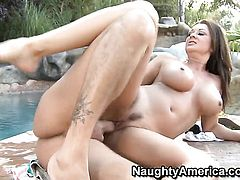 Alex Gonz stretches delicious Raquel Devines love hole with his rock solid tool to the limit