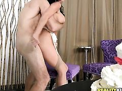 Mature with huge boobs and hairless pussy just loves to blow and cant say No to her horny bang buddy