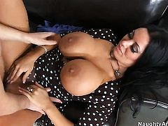 Dane Cross cant wait any more to insert his sausage in lovely Sienna Wests fuck hole