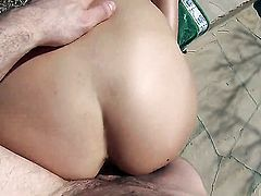Danica Dillon offers her totally fuckable mouth to hard cocked guy