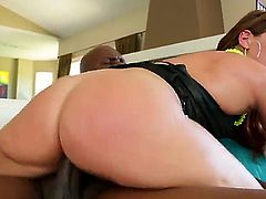 Savannah Fox is in need of some sex. So she calls her coach over to give her a nice time. She is getting his big dick inside her tight ass.