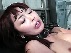 Skin Diamond is getting some anal love from a girl with a strap on. There are no men in sight, so this will have to do. She is pounded there anally.
