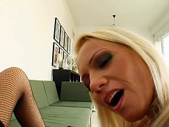 Sara is getting Mely's entire hand shoved in her pussy, with a little tongue action to spice it up. Sara is always a giver by nature and we see she show Mely the same affection, by working her own hand in her hole, until she cums hard.