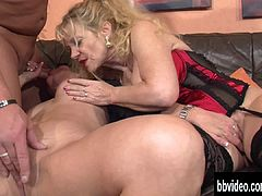 German milfs suck and fuck dicks