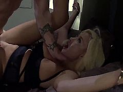 Summer Brielle is a blonde teacher with huge tits. She wants to get one of her students to study harder, so she invites him to her bedroom and lets him do whatever her wants.