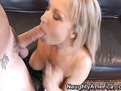 Tender honey Jessica Moore with big breasts and clean twat makes her sex dreams a come to life with hot dude Dale Dabone