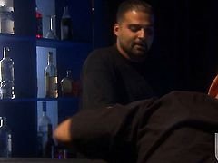 India Summer does oral job for hard dicked dude to enjoy