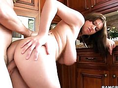 Sara Stone needs nothing but guys hard sausage in her fuck hole to be happy