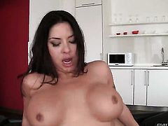 Huge tits milf is ass fucked
