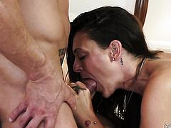 Marco Banderas gets pleasure from fucking Olivia Wilder in her sweet mouth